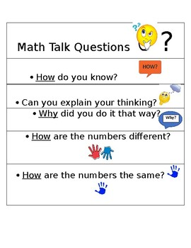 Number (Math) Talk