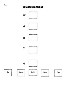 Number Math Up 6-10