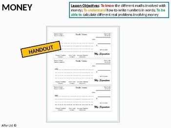 Mathematics and Money (+ 2 worksheets)