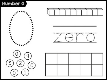 Number Sense: Count & Write Numbers to 10 CCSS K.CC.A.3