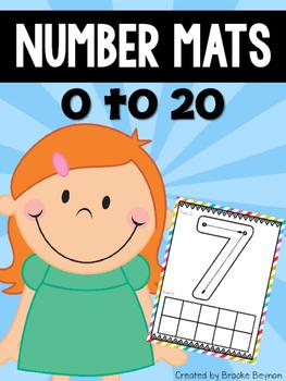 Number Mats 0-20