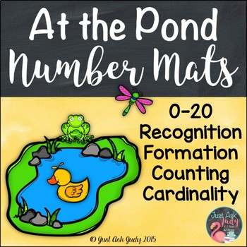 Number Mats 0-20 At the Pond
