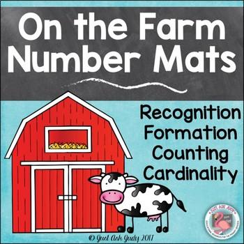 Number Mats 0-20 Farm
