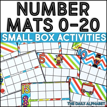 Number Mats 0-20: Small Box Activities