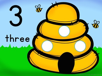Number Mats 1-10:  Beehives