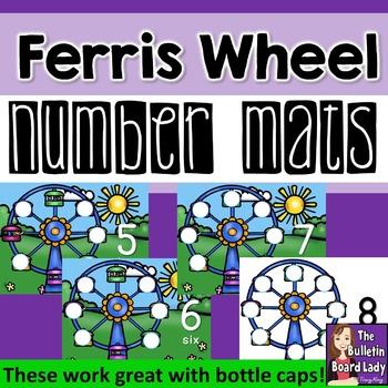 Number Mats 1-10: Ferris Wheel