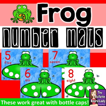 Number Mats 1-10: Frog