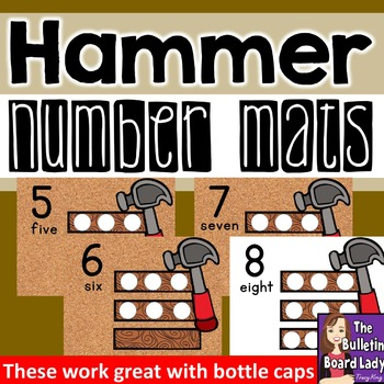 Number Mats 1-10: Hammer and Nails
