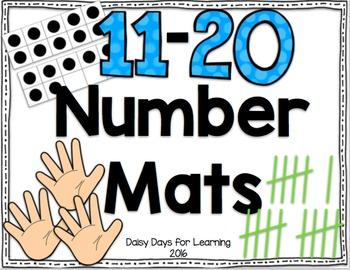 Number Mats: 11-20