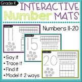 Number Sense Worksheets 11-20 Count & Write Teen Numbers