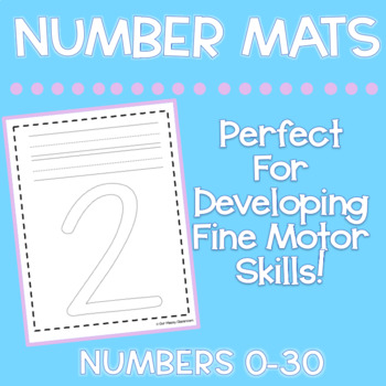 Number Identification Mats (0-30)
