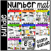 Number Mats Build It BUNDLE - Fine Motor Fun!