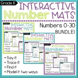 Number Sense: Count & Write Numbers to 30 BUNDLE CCSS K.CC.A.3