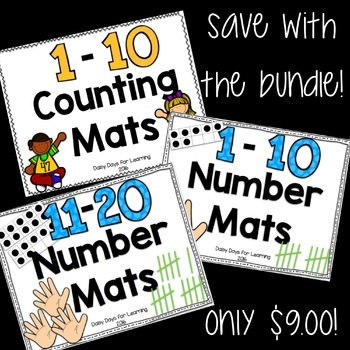 Number Mats Bundle