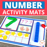 Number Sense | Numbers Activity & Counting Mats 1-20 & 1-10