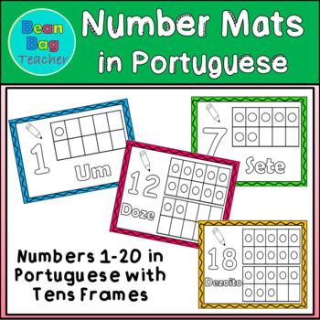 Number Mats - Portuguese