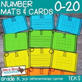 Number Mats and Number Cards to Trace, Write, & Represent