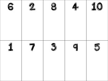 Number Mats and Number Identification Game