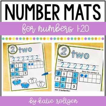 Number Mats for 1-20