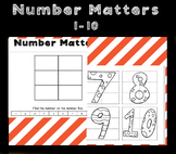 Number Matters 1-10 - fun number activity