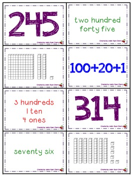 Number Memory Game Pack - Aligned with Common Core Standards