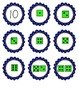 Number Memory with Dice Faces 1-10