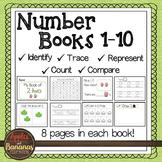 Number Books - Kindergarten 1-10