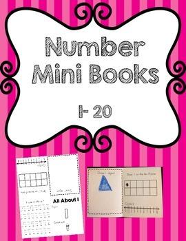 Number Mini Books: 1-20