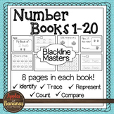 Number Mini-Books Kindergarten - Blackline Masters 1-20
