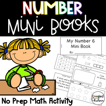 Number Mini Books {Numbers to 20}