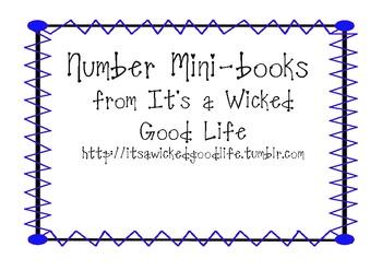 Number Mini-books