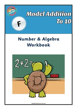 Number: Model Addition to 10 Maths Workbook