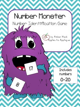 Number Monster Activity