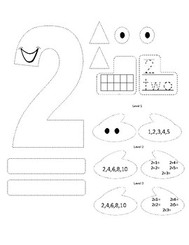 Number Monsters 1-5