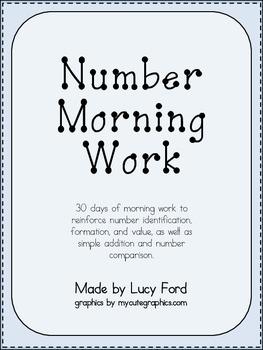 Number Morning Work