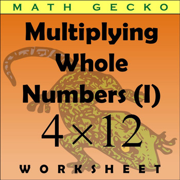 #050 - Multiplying Whole Numbers (I)