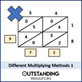 Multiplying & Dividing 4 - 6 Different Multiplication Methods (2 lessons)