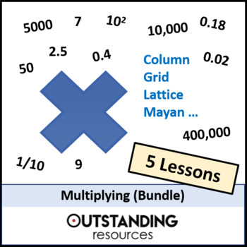 Number: Multiplying and Dividing Bundle (5 lessons) + resources