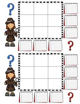 Number Mysteries - Math Fact Practice
