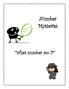 Number Mysteries Place Value