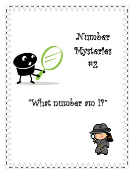 Number Mysteries Place Value #2