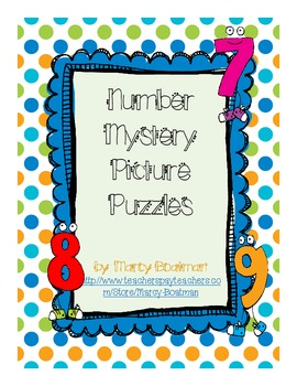 Number Mystery Picture Puzzles