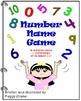 Number Name Game - An Interactive Big Book