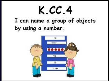 Number Name Groups: Math Center (K.CC.4)