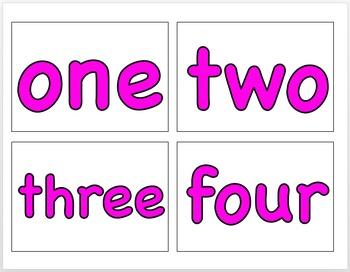 Number Name Line