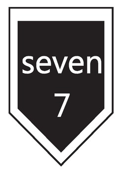 Numbers up to 20 - Banner - Black and White