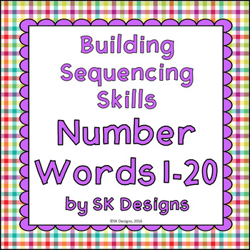 Sequencing Numbers 1-20: Build Skills & Fluency w Flash Ca