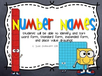 Place Value Center: Number Names