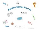 Number Names Math Journal