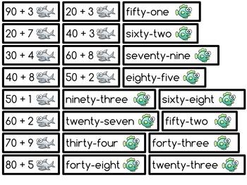 Number Names: Sorting Cards